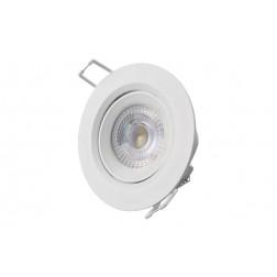 Downlight Led de Empotrar Diam. 7,4cm 380Lm Edm Blanco 5W 6400K