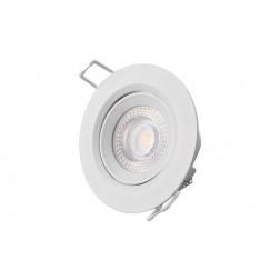 Downlight Led de Empotrar Diam. 7,4cm 380Lm Edm Blanco 5W 3200K
