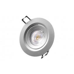 Downlight Led de Empotrar Diam. 7,4cm 380Lm Cromado 5W 6400K