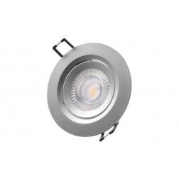 Downlight Led de Empotrar Diam. 7,4cm 380Lm Edm Cromado 5W 3200K