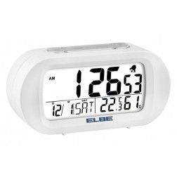 Reloj despertador con Termテウmetro RD-009-B