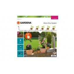 Riego Goteo Set Inicial S Gardena 5 Macetas