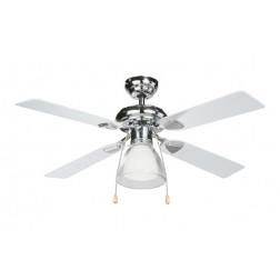 Ventilador De Techo 4 Aspas Madera Diam. 106 Cm Plafon Non 50W 3 Velocidades