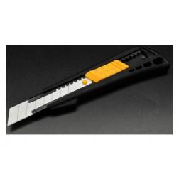 Cuter 18mm Auto Lock Cuchilla Cerámica Ironside Abs Tacto Suave Anti Deslizante
