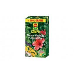 Abono Compo Macetas y Jardineras 250g+50g Gratis 1359002011
