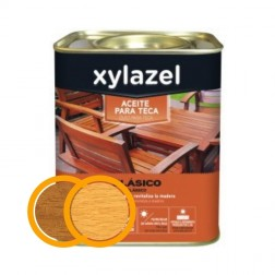 Aceite para Teca Clásico Xylazel Miel 750ml
