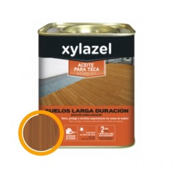 Aceite protector suelos Xylazel Teca Larga Duración Teca 750ml