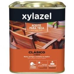 Aceite Teca Incoloro Xylazel 2.5 L