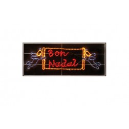 Bon nadal decorado flexilight 15OX80 CM Guirma