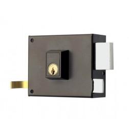 Cerradura Azbe con palanca y resbalón 125A/100D HN