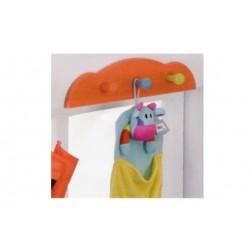 Colgador kide naranja 11x50 Closet norte