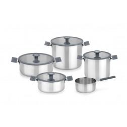 Baterテュa de cocina Bra Color Steel gris