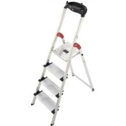 Escalera de aluminio Hailo  L80 ComfortLine 4 peldaños