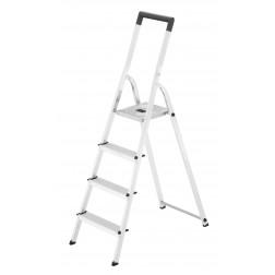 Escalera de aluminio Hailo L40 4 peldaños
