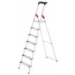 Escalera de aluminio Hailo  L80 ComfortLine 7 peldaños