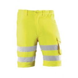 Pantalón corto de alta visibilidad Juba Harker Talla XXL