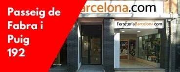 Ferreteria Barcelona Fabra i Puig 192