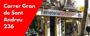 Ferreteria Barcelona Gran de Sant Andreu 236
